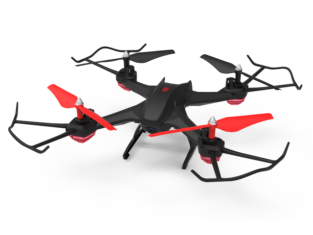 2.4G R/C DRONE WITH 10 FLYING MINS