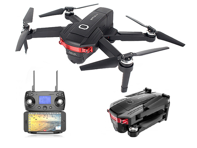 YK-101 - Brushless Gps drone with 4k+720p Double Camera