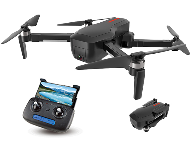 YK-92 - Brushless 5G foldable Gps drone with 4k+optical flow